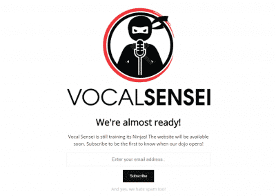 Vocal Sensei (Coming Soon)