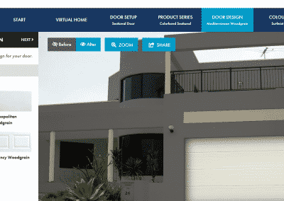 Garage Door Visualiser